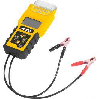 Teste de bateria automotiva com impressora TBV 1400 - Vonder