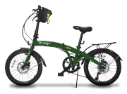 Pliage Plus Bicicleta Dobrável Two Dogs - Verde