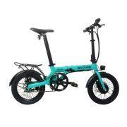 """Bicicleta Elétrica Dobrável Skape Mini 250W / 16"""" / 14Kg - Azul"""