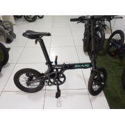 "Bicicleta Elétrica Dobrável Skape Mini - 250W / 16"" / 14Kg *Semi Nova"