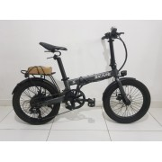 "Bicicleta Elétrica Dobrável Skape S - 350W / 20"" / 17Kg - *Semi Nova"