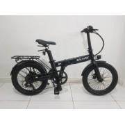 "Bicicleta Elétrica Dobrável Skape S Plus - 350W / 14Ah / 20"" / 20Kg - *Semi Nova"