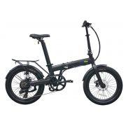 "Bicicleta Elétrica Dobrável Skape S Plus - 350W / 14Ah / 20"" / 20Kg - Qualisports Q3"