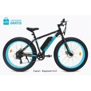 """Bicicleta Elétrica Pedalla SPECTRO , ARO 26""""X4.0"""", QUADRO 17"""" DE ALUMÍNIO, MOTOR 350W E BATERIA DE LITIO 36V X 11,25 AH - Cupom #EPPOWER1112"""