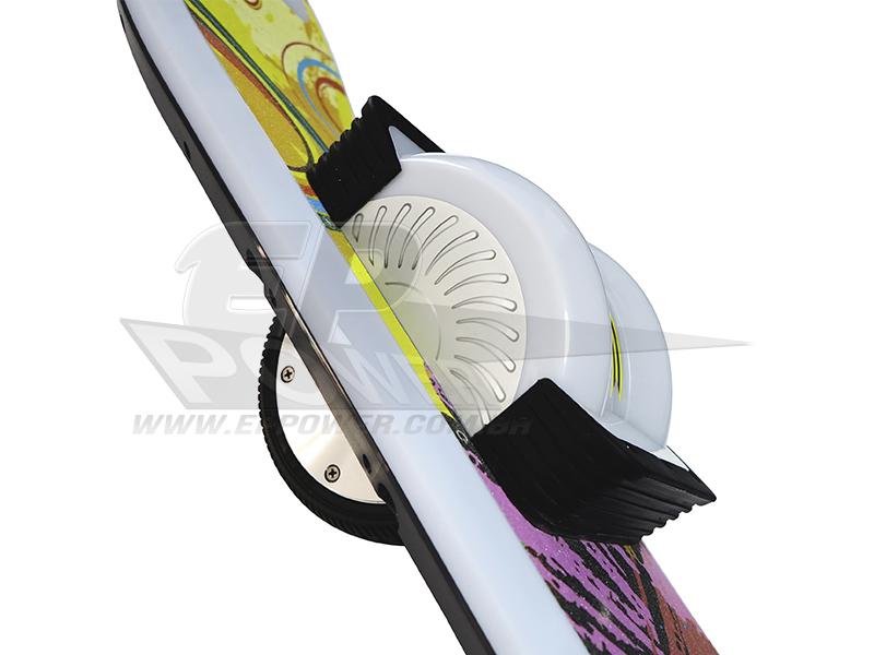 Airskate 6.5'' Monociclo Skate Elétrico de Roda Dupla - EPPOWER