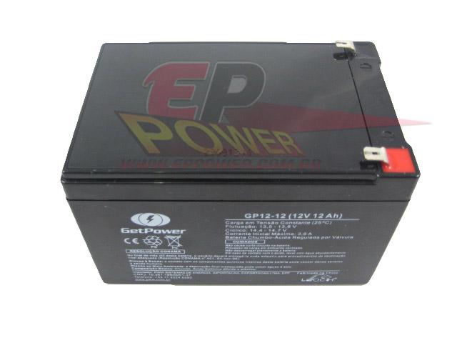 Bateria 12V 12Ah - Scooter Elétrico de 1000W / Skate Elétrico 800W - 1300W