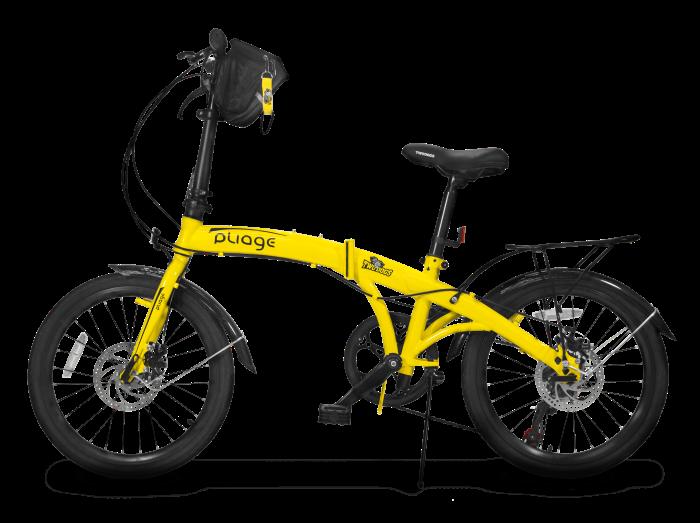 Bicicleta Dobrável Two Dogs Pliage Plus - Amarela