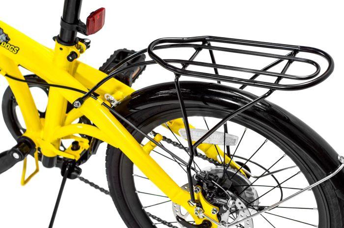 Pliage Plus  Bicicleta Dobrável Two Dogs - Amarela