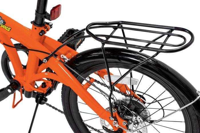 Pliage Plus Bicicleta Dobrável Two Dogs - Laranja