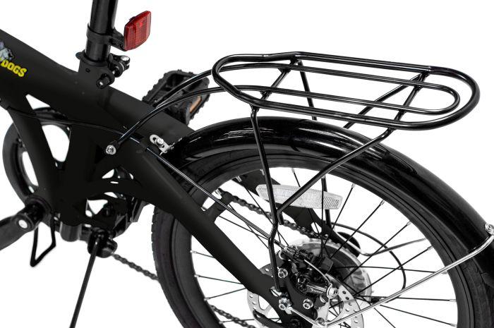 Pliage Plus Bicicleta Dobrável Two Dogs - Preta