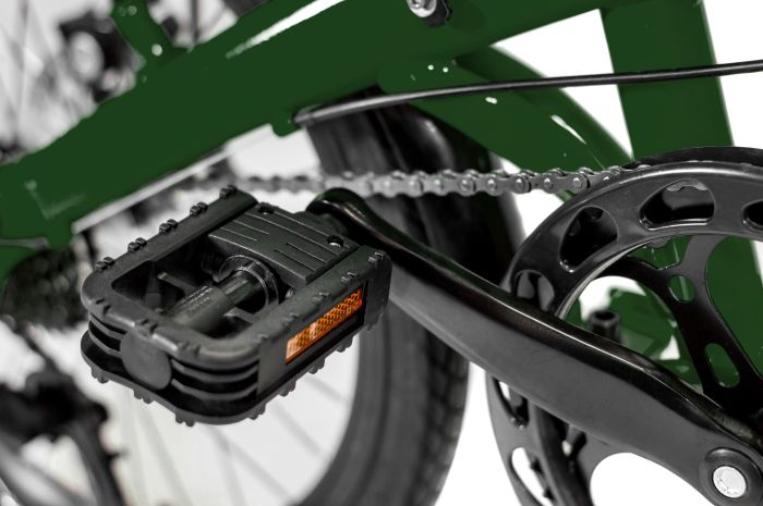 Bicicleta Dobrável Two Dogs Pliage Plus - Verde
