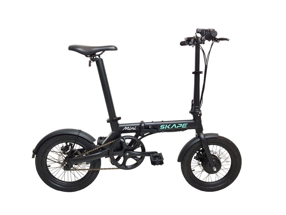 "Bicicleta Elétrica Dobrável Skape Mini 250W / 16"" / 14Kg"