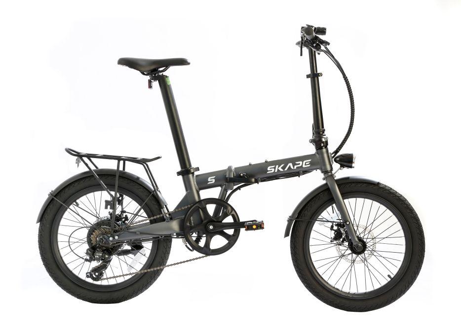 """Bicicleta Elétrica Dobrável Skape S  -  350W / 20"""" / 17Kg"""
