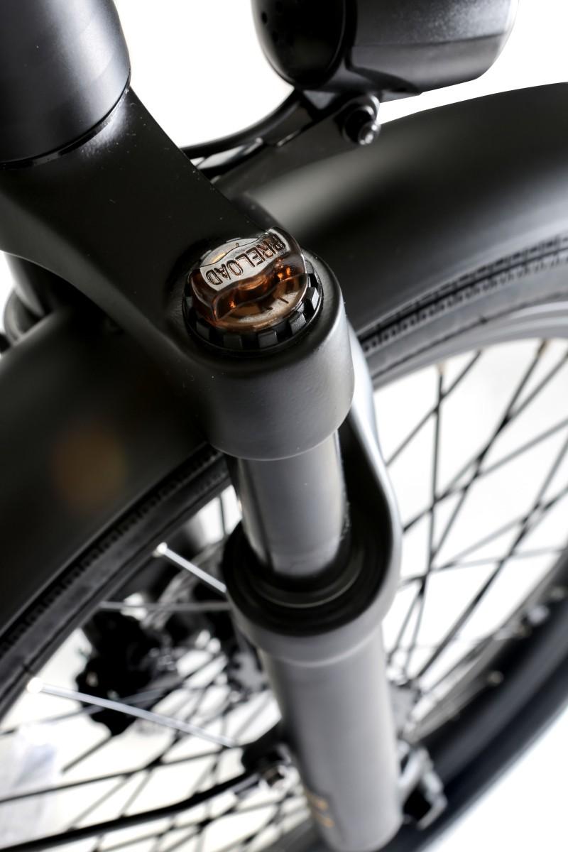 "Bicicleta Elétrica Dobrável Skape S Plus - 350W / 14Ah / 20"" / 20Kg / Freio Hidráulico"