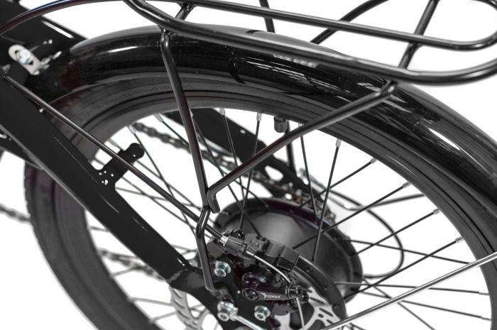 Bicicleta Elétrica Dobrável Two Dogs Pliage Plus - Preta