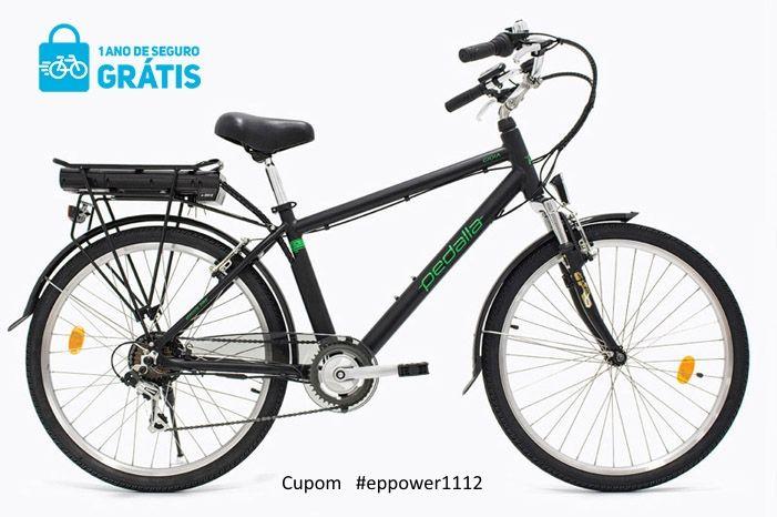 Bicicleta Elétrica Pedalla GIOIA , ARO 26, QUADRO 16