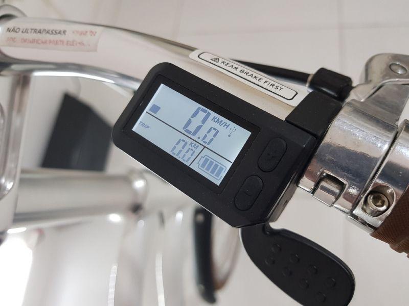 Bicicleta Elétrica Xiaomi Yunbike Uma C1 Branca *mostruário*