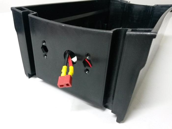 Caixa de Bateria Completa M2 - Skate Eletrico 1300W M2 - EPPOWER