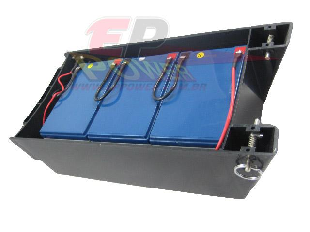 Caixa de Bateria Completa - Skate Eletrico 800W - EPPOWER