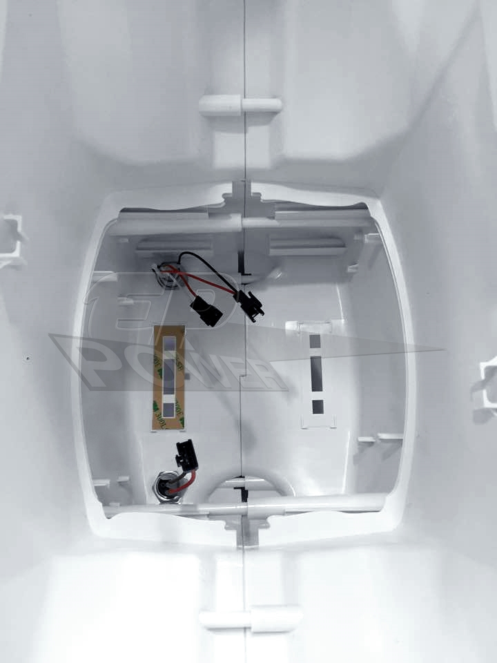 Carenagem Carcaça para Airwheel Q3 Branco