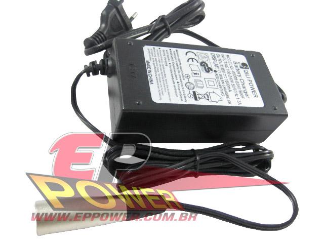 Carregador de Bateria 36V - Scooter Elétrico 1000W 36V