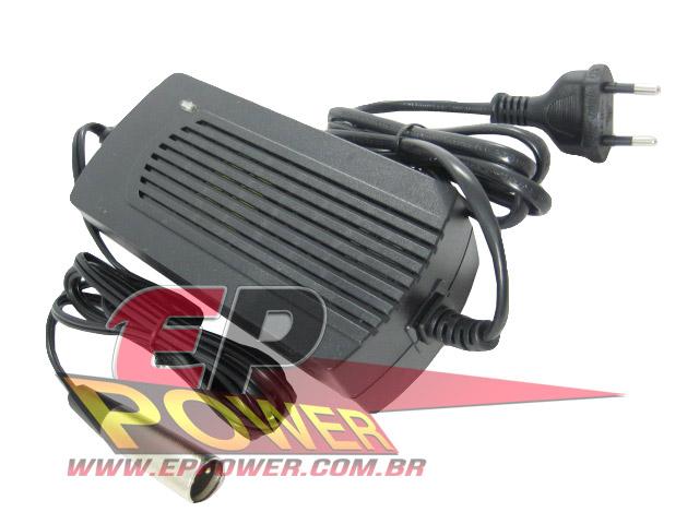 Carregador de Bateria 48V - Scooter Elétrico 1000W 48V