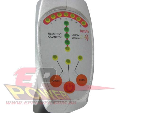 Controle Remoto Digital a pilha - Skate Eletrico 800W e 1300W EP POWER