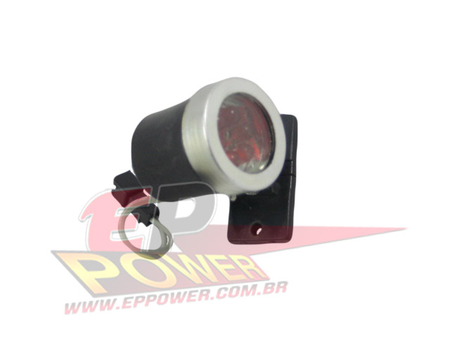 Lanterna Traseira com 6 leds vermelho - Skate Eletrico 800W - 1300W EPPOWER