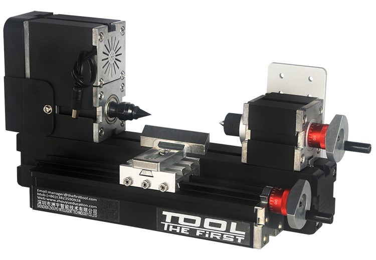 Mini Torno Metal Multifunção 10 em 1 - The First Tool - 60W, 12000rpm Motor Big Power - TZ10000MG