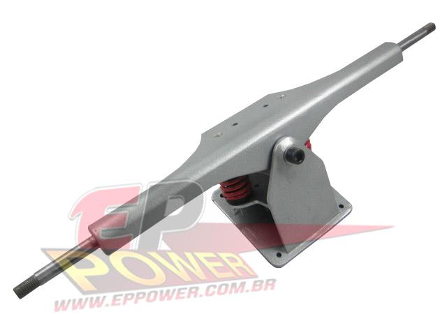 Truck Dianteiro Completo mola vermelha - Skate Eletrico 800W EPPOWER
