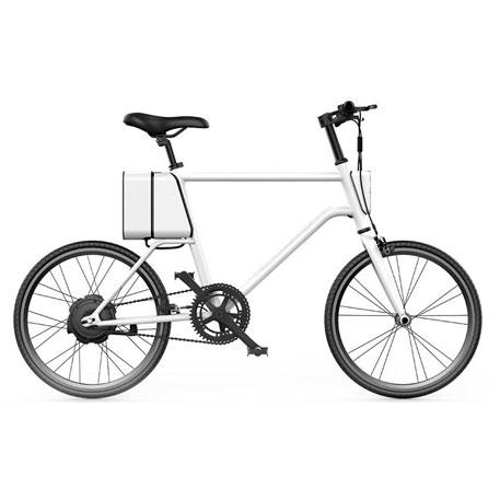 Bicicleta Elétrica YUNBIKE UMA C1 Masculino -  Branco