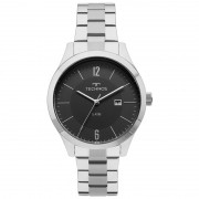 Relógio Technos Masculino 2115mot/1p Classic Steel Prata