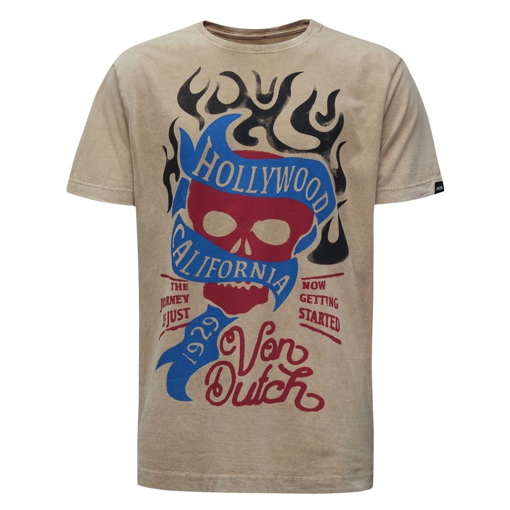 CAMISETA VON DUTCH HOLLYWOOD CALIFORNIA