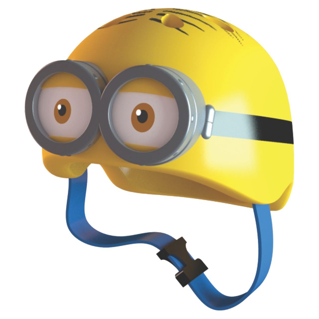 Capacete Infantil Minions? Double Eye com Olhos 3D