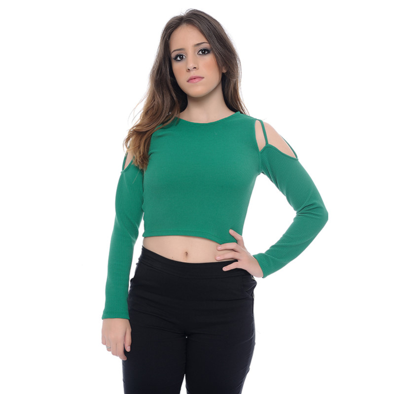 TOP CROPPED CIGANINHA