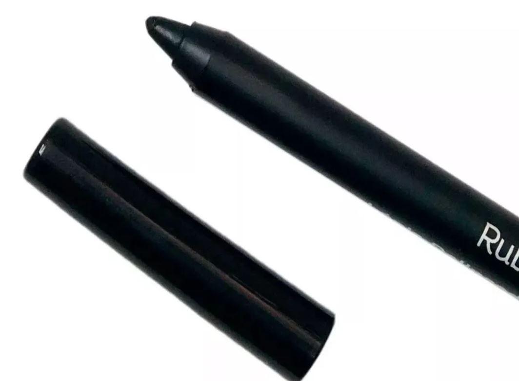 Lápis Delineador para Olhos a Prova D'água Carbon Black Ruby Rose HB-050