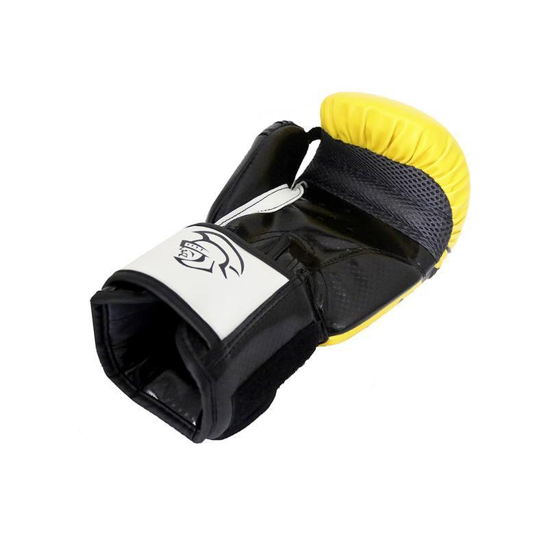 Luva Muay Thai Boxe Elite - Pretorian [amarela] 12oz