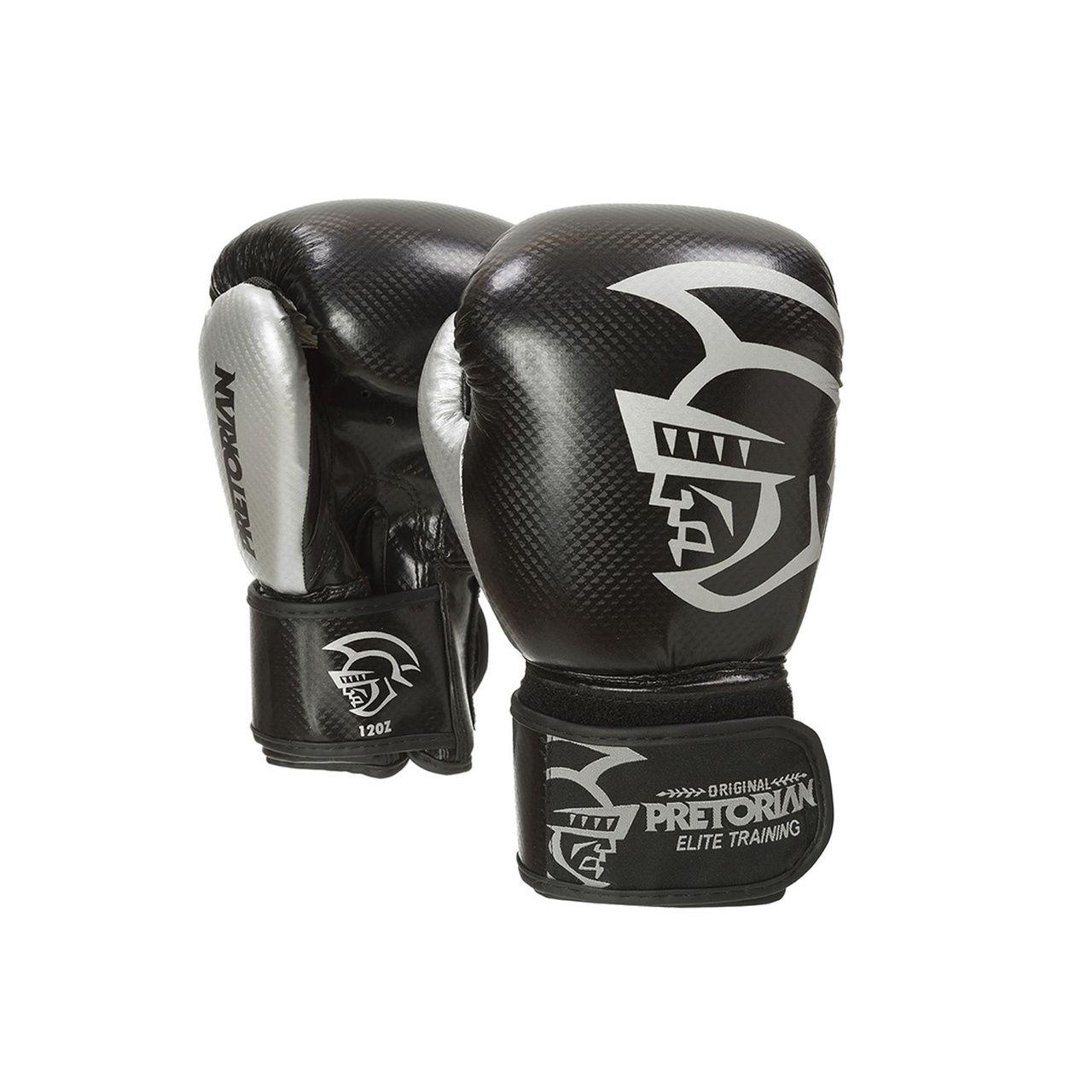 Luva Muay Thai Boxe Elite - Pretorian [preta] 10oz