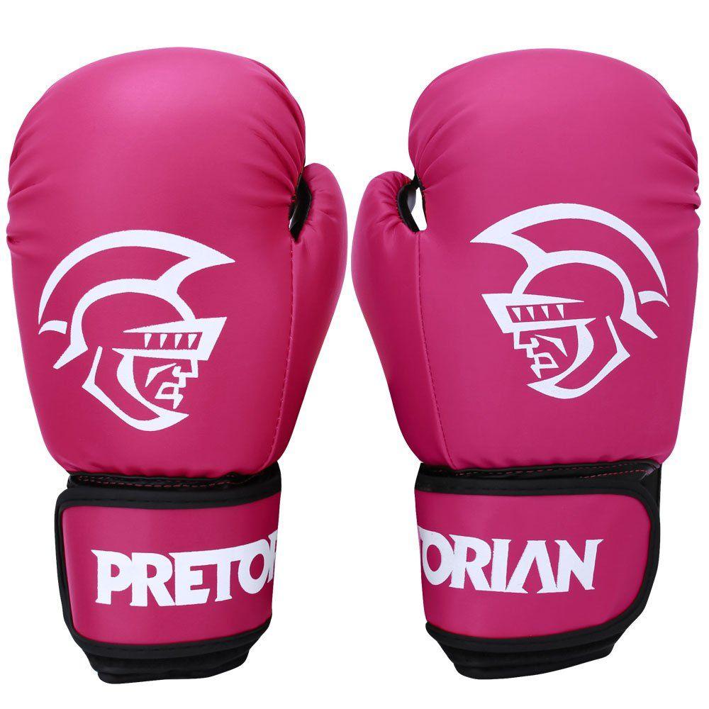Luva Muay Thai Boxe First - Pretorian [rosa] 10oz