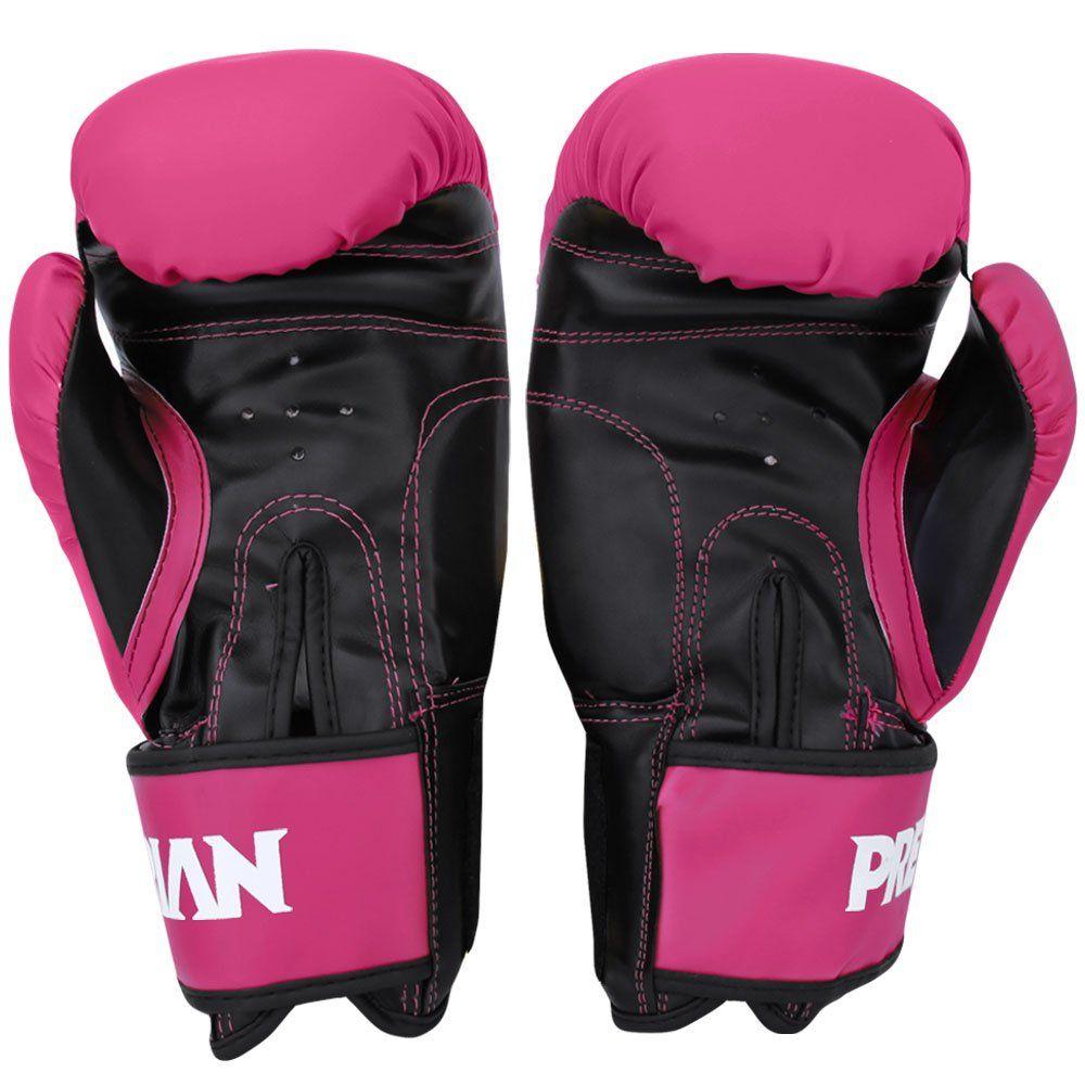 Luva Muay Thai Boxe First - Pretorian [rosa] 12oz