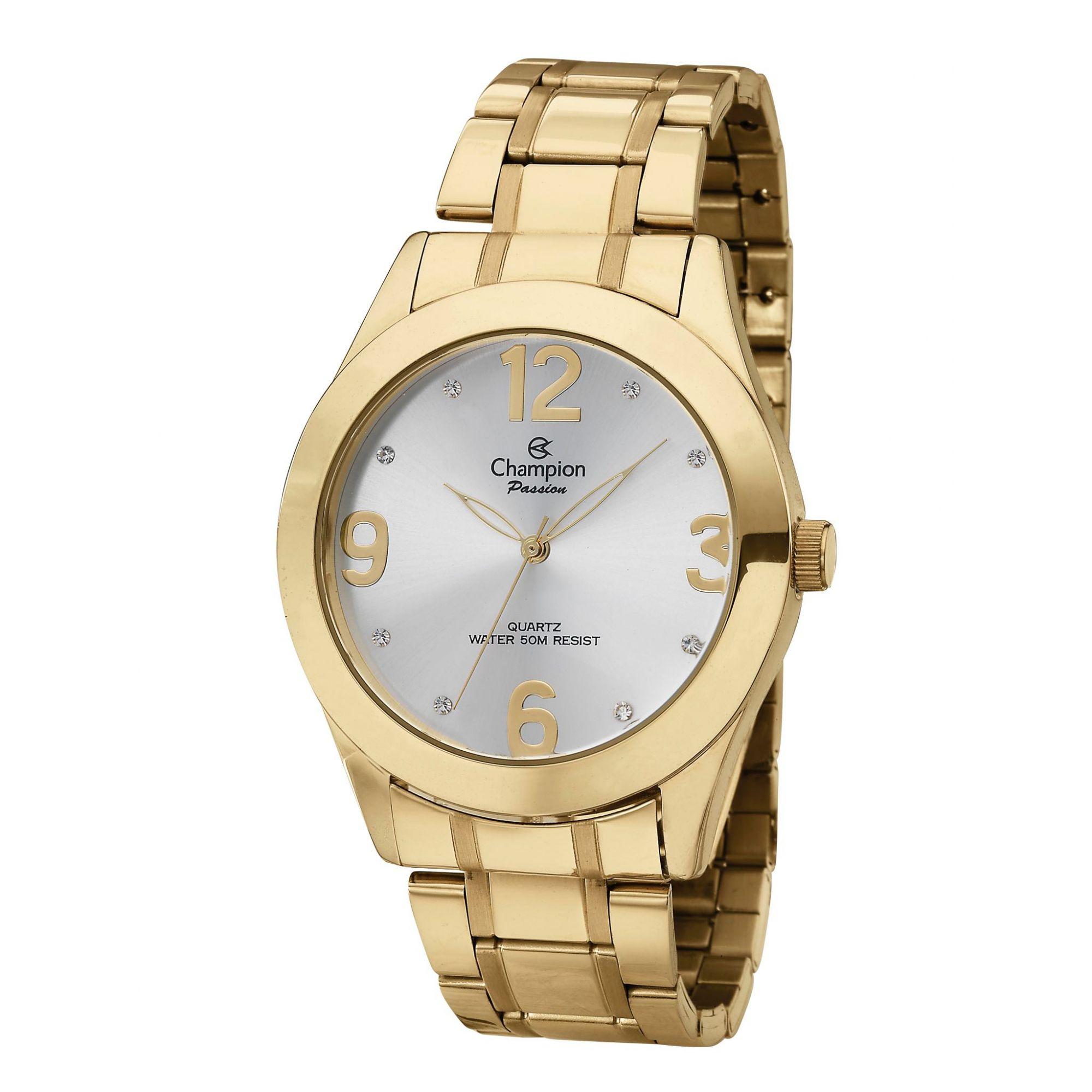 Relógio Feminino Champion Passion Ch24268h Dourado