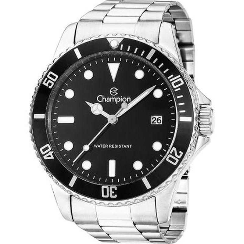 Relógio Champion Masculino Analógico Ca31266t Prateado