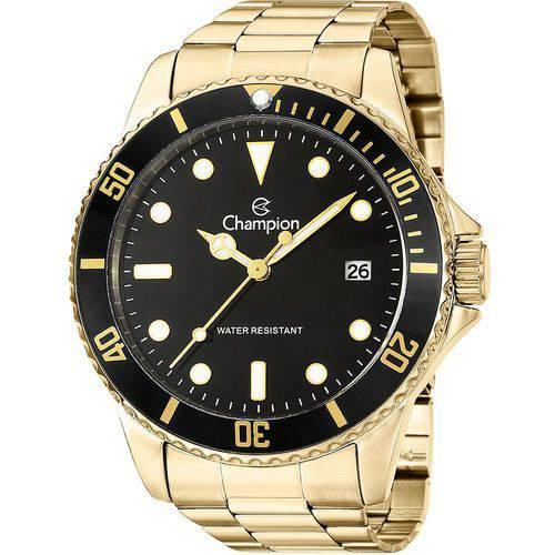 Relógio Champion Masculino Analógico Ca31266u Dourado