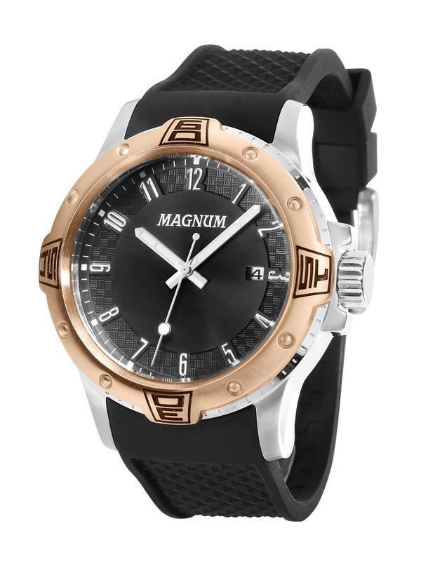 Relógio Magnum Sports Ma34414p Masculino Preto