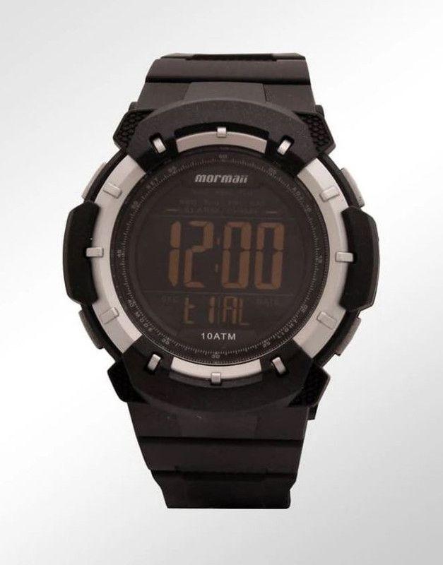 Relógio Masculino Mormaii Wave Preto Pulseira Silicone MO3571/8P
