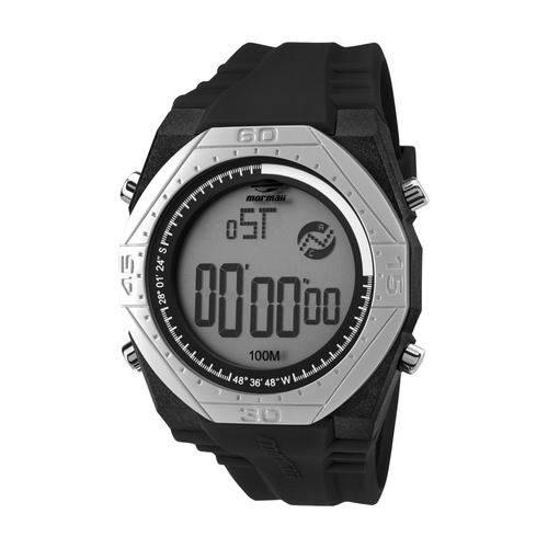 Relógio Mormaii Mo11273E8P Masculino Esportivo Digital Preto