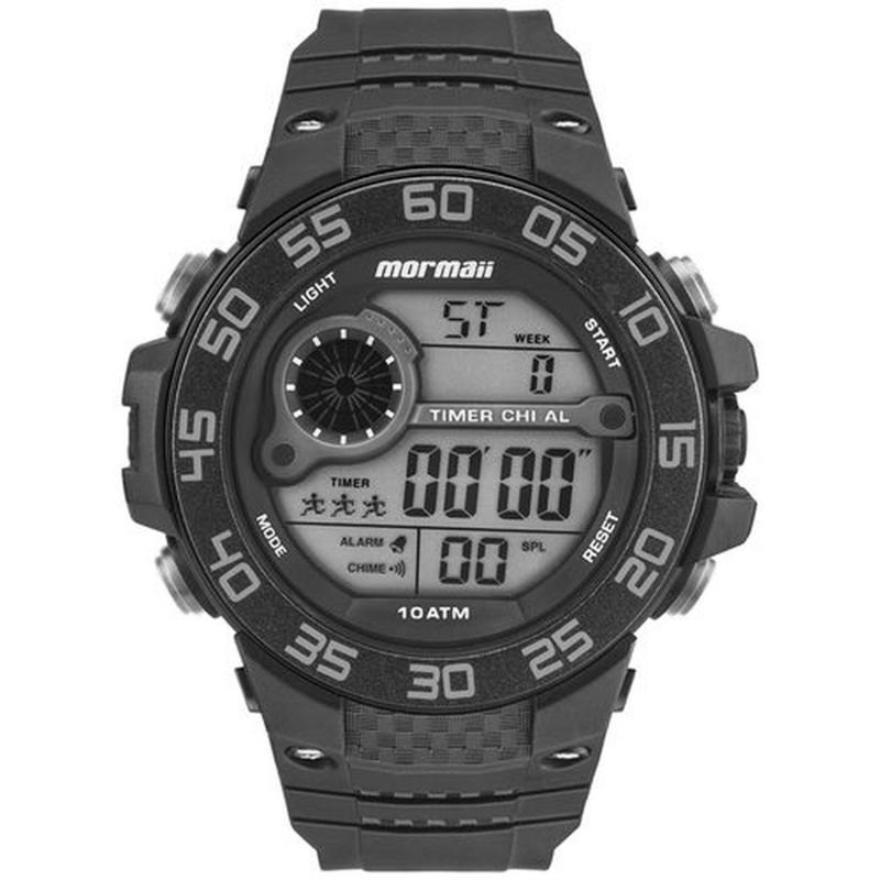 Relógio Mormaii Mo9451/8c Masculino Esportivo Digital Preto