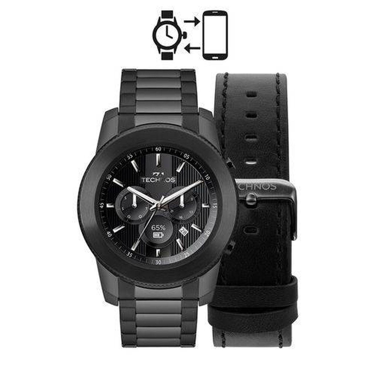 Relógio Technos Performance Connect M1ab/4p Masculino Preto