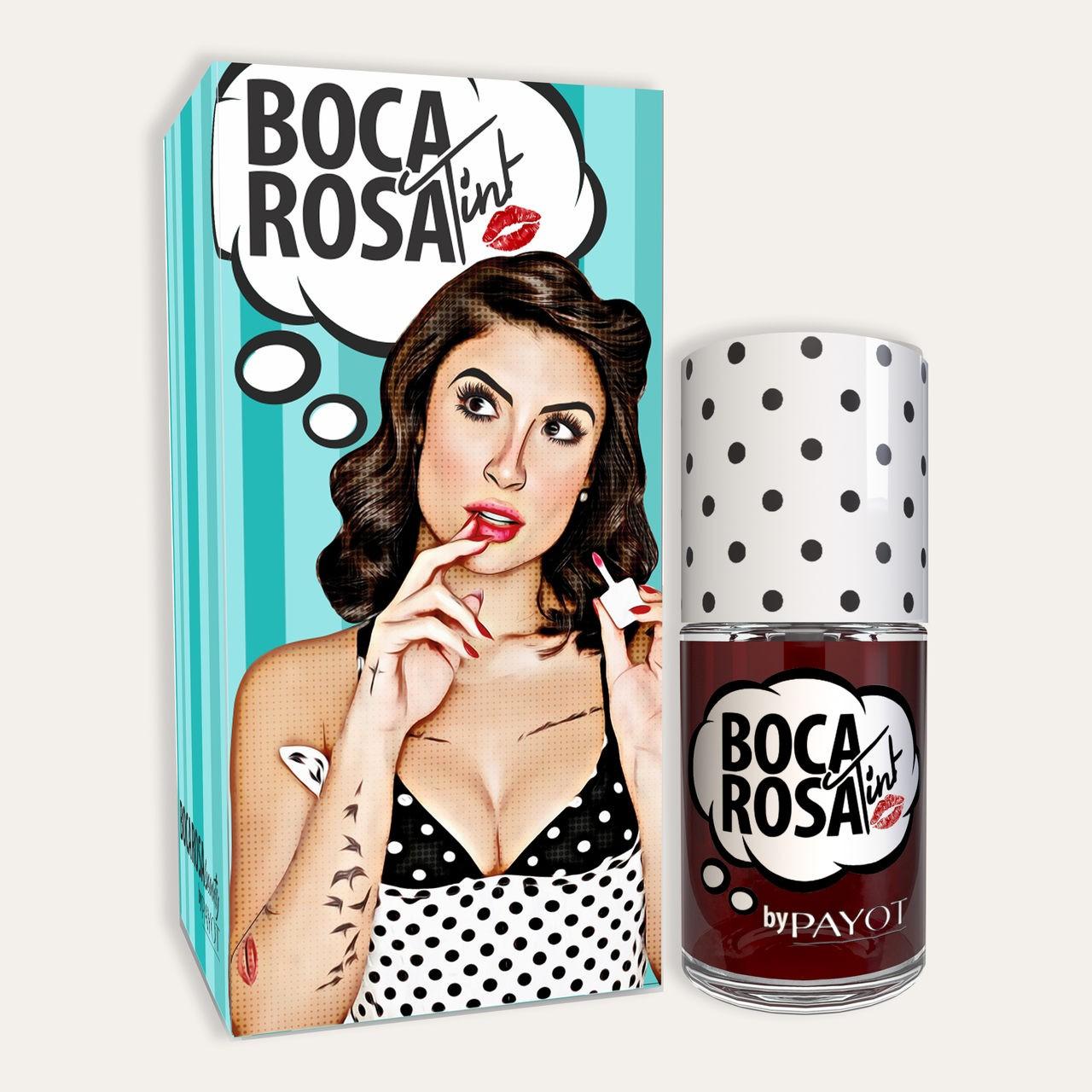 TINT BATOM BOCA ROSA VERMELHO ROSADINHO