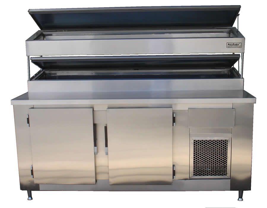 Balcão Refrigerador para Cubas 2 NÍVEIS -